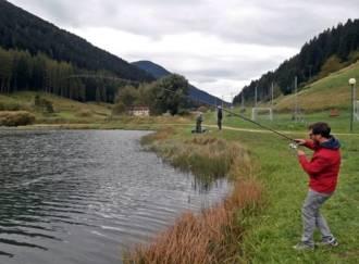 Pesca alla trota al lago delle Buse - G4